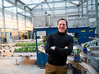 Martijn van Velzen vertelt over Sleutel aan je toekomst in de kas